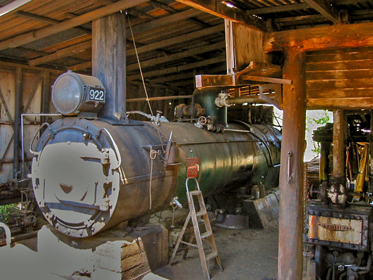 Preserved Steam Locomotives Down Under - C17 No. 922