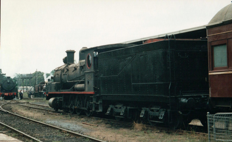 Preserved Steam Locomotives Down Under - 5461