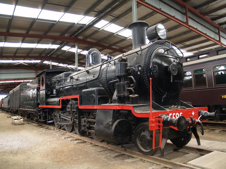 Preserved Steam Locomotives Down Under - PWD 79