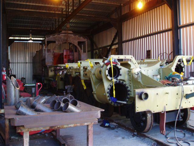 Preserved Steam Locomotives Down Under Bb18 No 1037
