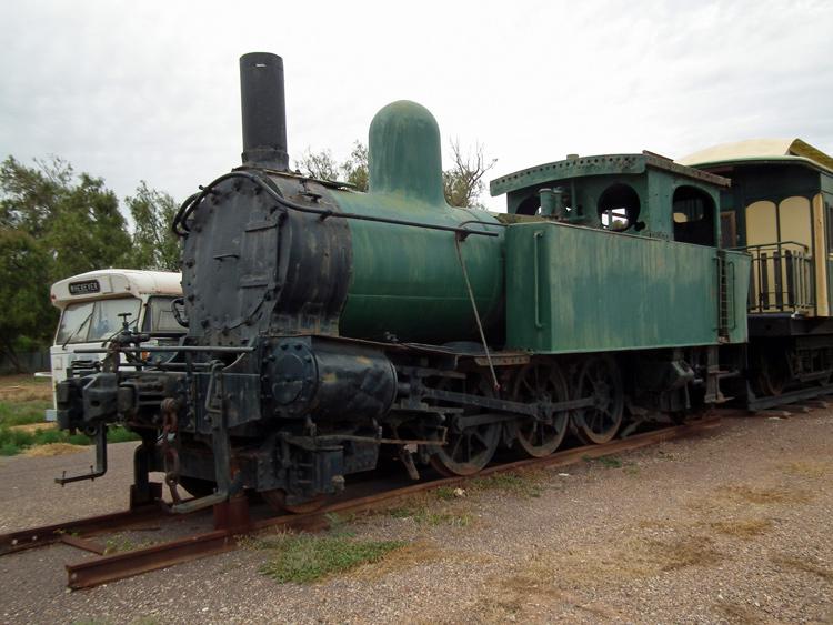 Preserved Steam Locomotives Down Under - BHP No 2