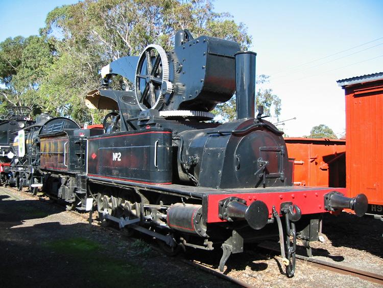 Victorian Railways Preserved Steam Locomotives